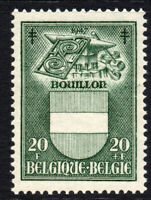 Belgium 20 Franc + 20 Franc Stamp c1947 Unmounted Mint Never Hinged (3173)