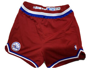 Game Worn Shorts Philadelphia Sixers 1990/1991 Champion Size 40 #55 J. Williams