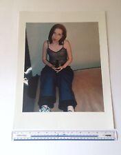 Shirley Manson / Garbage C-type Print 16 inch x 12 inch hand printed photograph