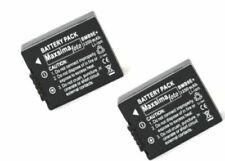 TWIN PACK Battery DMW-BMB9 1250mAhfor PANASONIC Lumix DMC FZ150, FZ100, FZ72 etc