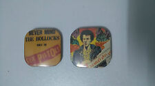Sex Pistols Sid Vicious music buttons set vintage SMALL BUTTON