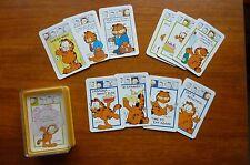VINTAGE 1970's PACK of QUARTETS GAME CARDS - JIM DAVIS - GARFIELD c1978