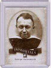 GEORGE HAINSWORTH 13/14 ITG Between the Pipes BTP Immortals #I-09 SP Insert Card