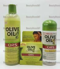 ORS Olive Oil Edge Control Hair Gel.
