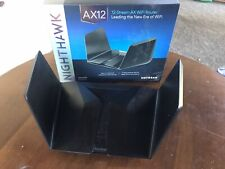 Netgear Nighthawk Ax12 Dual-Band 12-Stream Wi-Fi 6 Router - Used (Read)