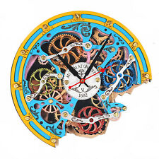 Automaton Bite 1682 Gypsy HANDCRAFTED moving gears unique steampunk wall clock