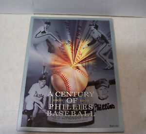 A CENTURY OF PHILLIES BASEBALL 1900-99 & 2008 SPORTS ILLUSTRATED CHAMPION PHILS
