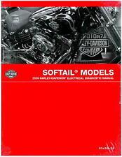 2009 Harley Davidson Softail Motorcycle Electrical Diagnostic Manual : 99498-09