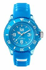 ICE WATCH AQ.MAL.S.S.15 ICE Aqua Malibu small Silikon hellblau neu