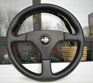 Honda Access Beat MOMO Ghibli Leather Steering Wheel PP1 EG EK EDM JDM SiR Rare