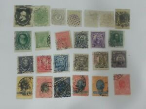 25 Old Brazil stamps very rare
