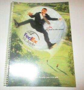2000 FedEx / St. Jude Golf Classic Media Guide - Notah Begay III Wins!