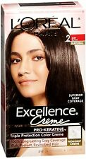 LOreal Excellence Creme - 2 Soft Black (Natural) 1 Each