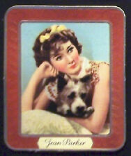 Jean Parker 1937 Garbaty Passion Film Favorites Embossed Cigarette Card #91
