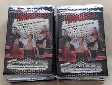 Lot of 100 Packs of 2008 Tristar TNA Impact Wrestling Inauguaral Edition