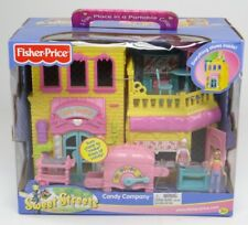 FISHER-PRICE ~ SWEET STREETS ~ CANDY COMPANY ~ 2003 C0436 Retired Playset ~ NEW