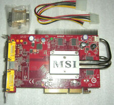 MSI ATI hd2600pro 512mb AGP tarjeta gráfica AMD Radeon HD 2600 agp8x pasiva Silent