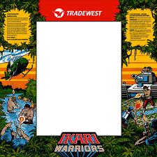 Ikari Warriors Arcade Monitor Bezel Sticker Decal