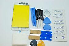 Kit de Réparation iPhone 8 Blanc Écran, Verre Avant avec Cadre Ajusté