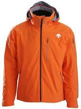 NEW! Descente Regal Insulated Ski Snowboard Jacket D7-8620 Color Orange Small