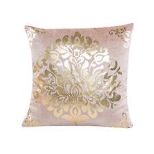 Sequin Vintage Pillow Case Sofa Waist Throw Cushion Cover Home Decor Beige