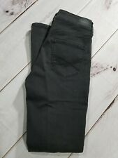 """Aeropostale High Waisted Skinny Jeggings Jeans Black Stretch Size 2 Inseam 29"""""""