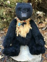 HTF ALISTAIR  Quality Artist Alpaca Mohair Wolfish Teddy Bears MG RODRIGUES OOAK