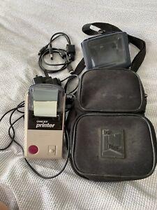 Original Game Boy Printer, Printer Accessory Cable, Light Magnifier & Bag/case