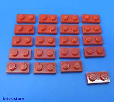 LEGO Nr 302331 / 1x2 Plaque rouge / 20 Pièces