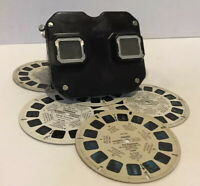 VTG 1940's Sawyers View Master Model C Viewer. Works Great! Comes With 6 Reels.