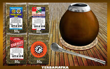 Sensational Yerba mate set with 4x50g of different kinds + necessary accessories