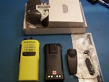 Motorola HT750 UHF 403-470MHz 16 Channel  Public Safety Yellow Case New Tested
