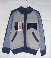 CITYROY KIDS Club Boy's Wool Blend Sweater Size 5-6 Years NWT.