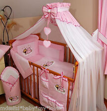 STUNNING /BABY/COT/COTBED BIG CANOPY DRAPE/585cm wide + FREE STANDING HOLDER/ROD