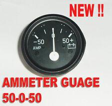 Ampèremètre 60/60 Voiture Compteur Comparateur Amp 52mm Neuf