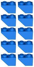 Missing Lego Brick 3665 Blue x 10 Slope Brick 45 2 x 1 Inverted