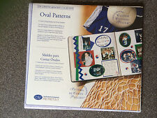 Creative Memories Custom Cutting System Oval Patterns