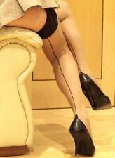 Damen-Socken & -Strümpfe aus Polyamid mit Naht in Übergröße