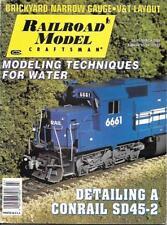 Railroad Model Craftsman Mar.2000 N HO Scale V&T Conrail SD45-2 Narrow Gauge