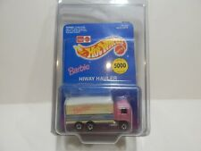 Leo India Hot Wheels Barbie Apparel Hiway Hauler Limited Edition 5000 made