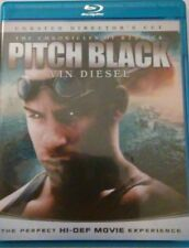 The Chronicles Of Riddick Pitch Black Unrated Directors Cut Blue Ray Movie