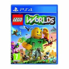 Ps4 PlayStation 4 Game Lego Worlds 1st Class Post