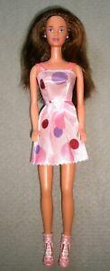 VINTAGE 1998 FLORIDA VACATION TERESA Doll ~ ORIGINAL EARRINGS & Nicely Dressed!