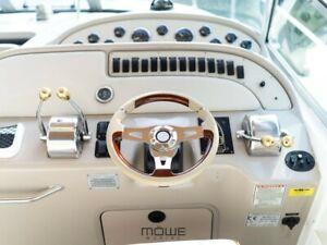 MÖWE Marine Boat Steering Wheel Konstanz Beige Sea Ray With Teleflex Ultraflex