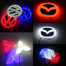 4D Car Logo Light Styling Brake Emblem brand Logo Light For Benz Hyundai Honda