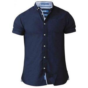 D555 Norman Button Down Oxford Tall Shirt Blue (LT 1XLT 2XLT 3XLT 4XLT)