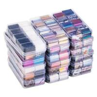 10Pcs Holographic Nail Foils Box Transparent Starry Sky Nail Art Stickers Decals