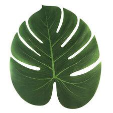 "12Pcs Tropical Palm Leaves 13.8"" For Luau Party Decor Hawaiin Safari Rain Forest"