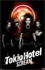 TOKIO HOTEL ~  SCREAM  22x34 MUSIC POSTER Humanoid NEW/ROLLED!
