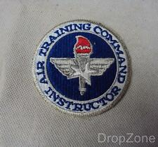 USAF US Air Force Air Training Command Instructor Badge / Patch